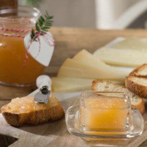 mermelada de pera y manzana
